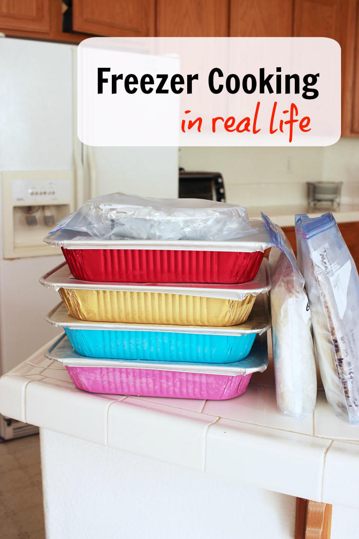Freezer Cooking in Real Life
