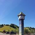 blue sky sunny fields park