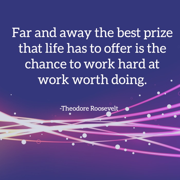 roosevelt work quote