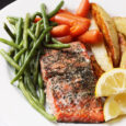 salmon with herbed seasoning mix GCE