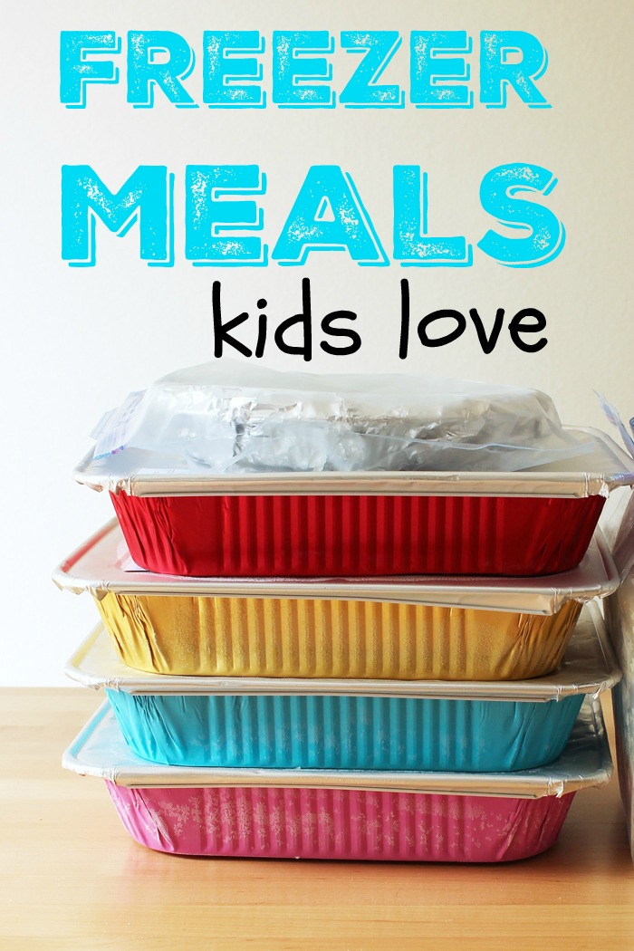 Freezer Meals Kids Love | Life as Mom