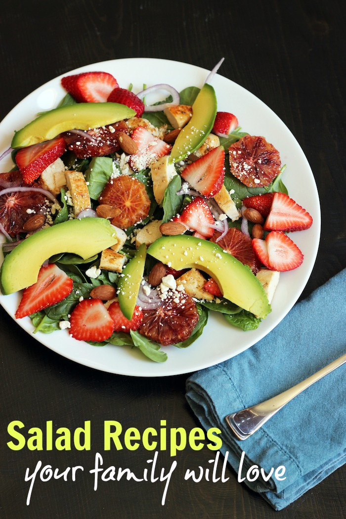 Salad Recipes Your Family Will Love
