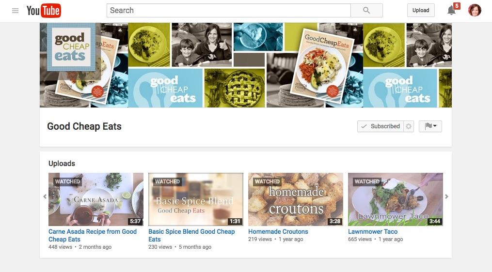 GCE YouTube