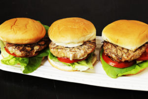 Inside Out Turkey Cheeseburgers LAM
