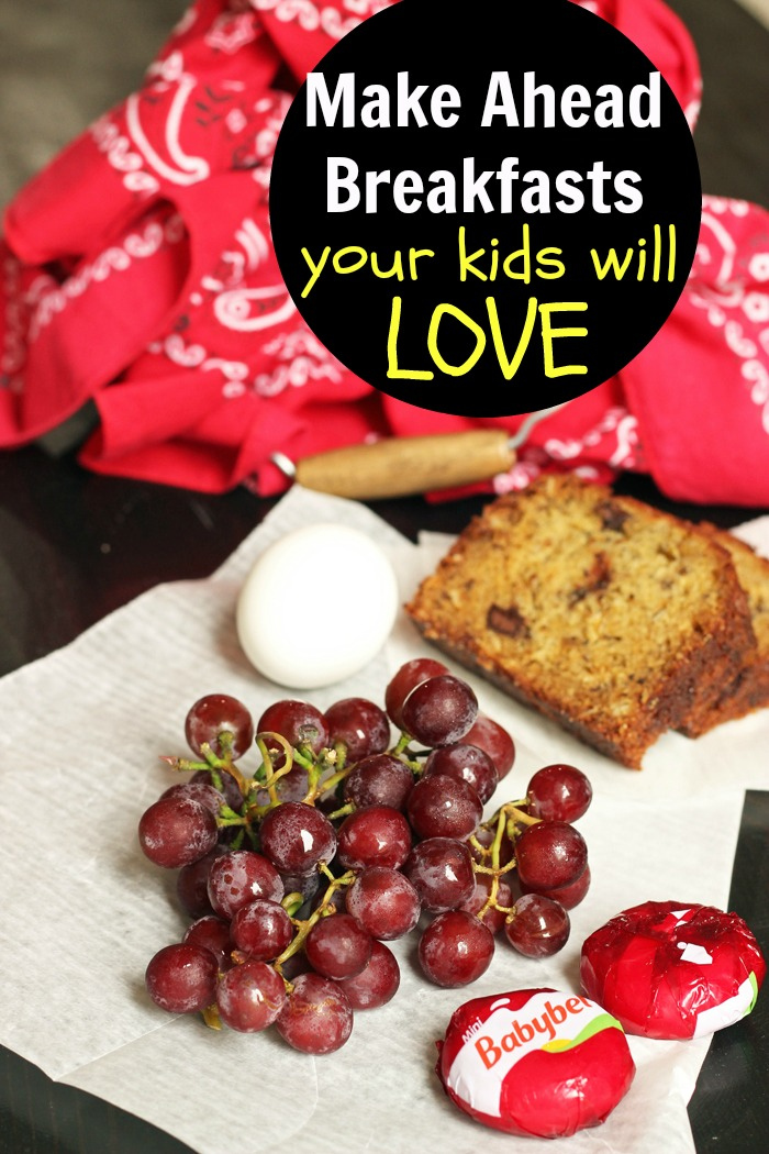 Make Ahead Breakfast Your Kids Will Love
