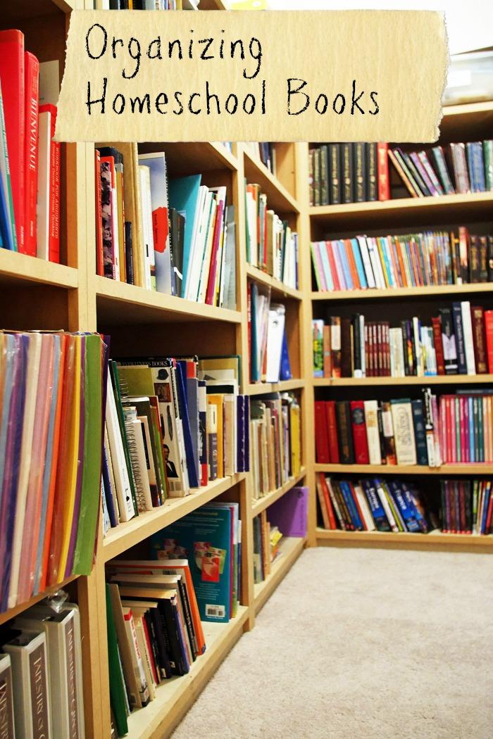 Organizing Homeschool Books Life as Mom