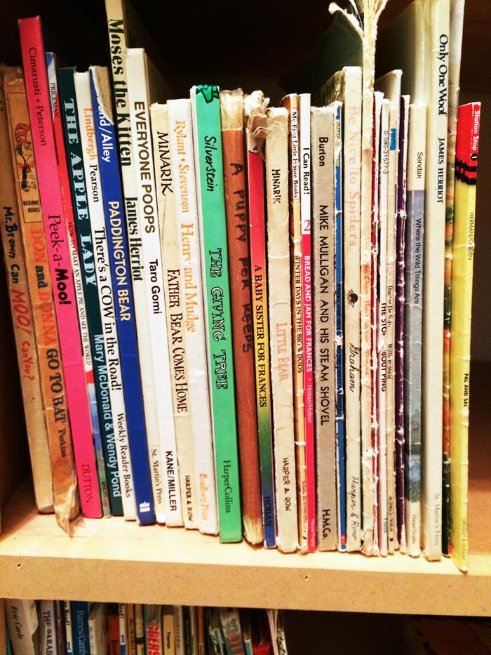 Organizing Homeschool Books | Life as Mom