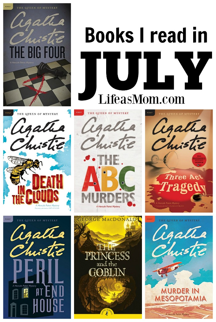 July Book Reviews | Life as Mom