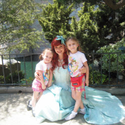 Girls Disneyland Ariel