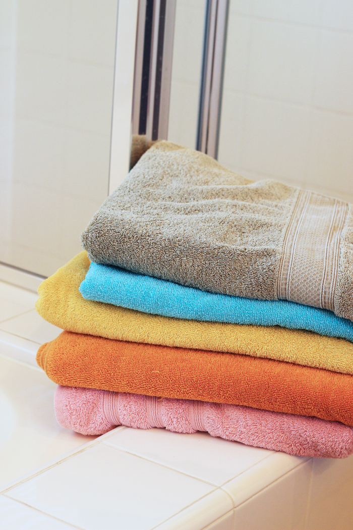 Color Coding towels