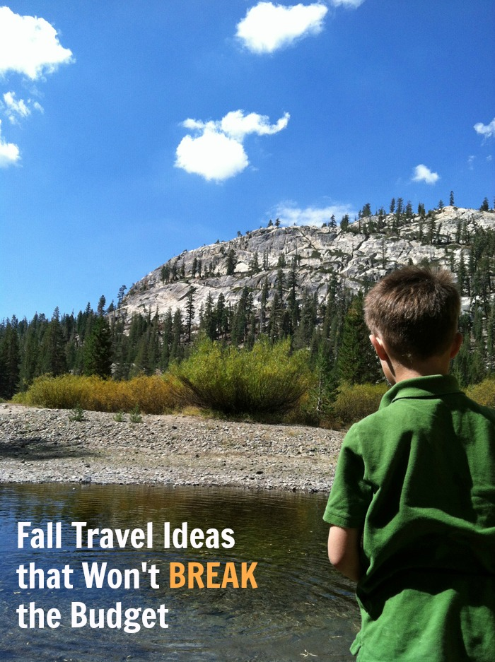 Fall Travel Ideas That Won't Break the Budget