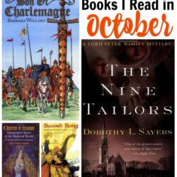 Historical Fiction Books I Read in October