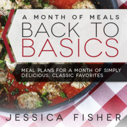 A New Meal Plan for October: Back to Basics