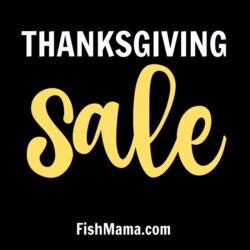 Thanksgiving Ebook Sale at FishMama.com