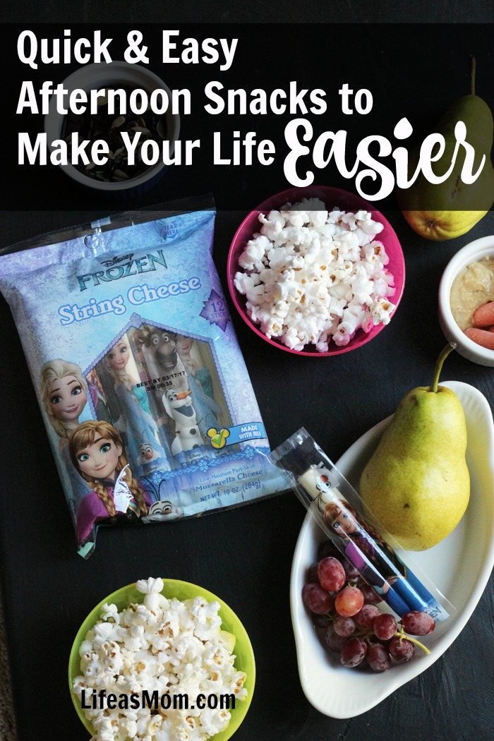 Quick & Easy Afternoon Snacks to Make Your Life Easier | Life as Mom