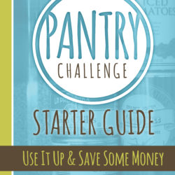 The Pantry Challenge is On!