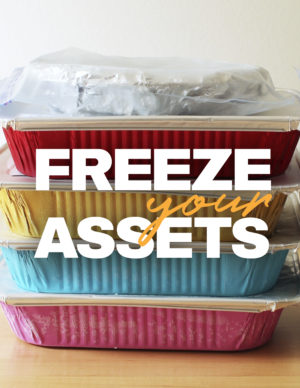 freezer your assets banner