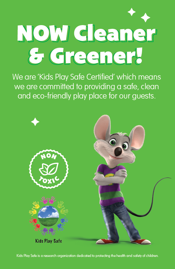 Play Safe at Chuck E. Cheese's | Life as Mom
