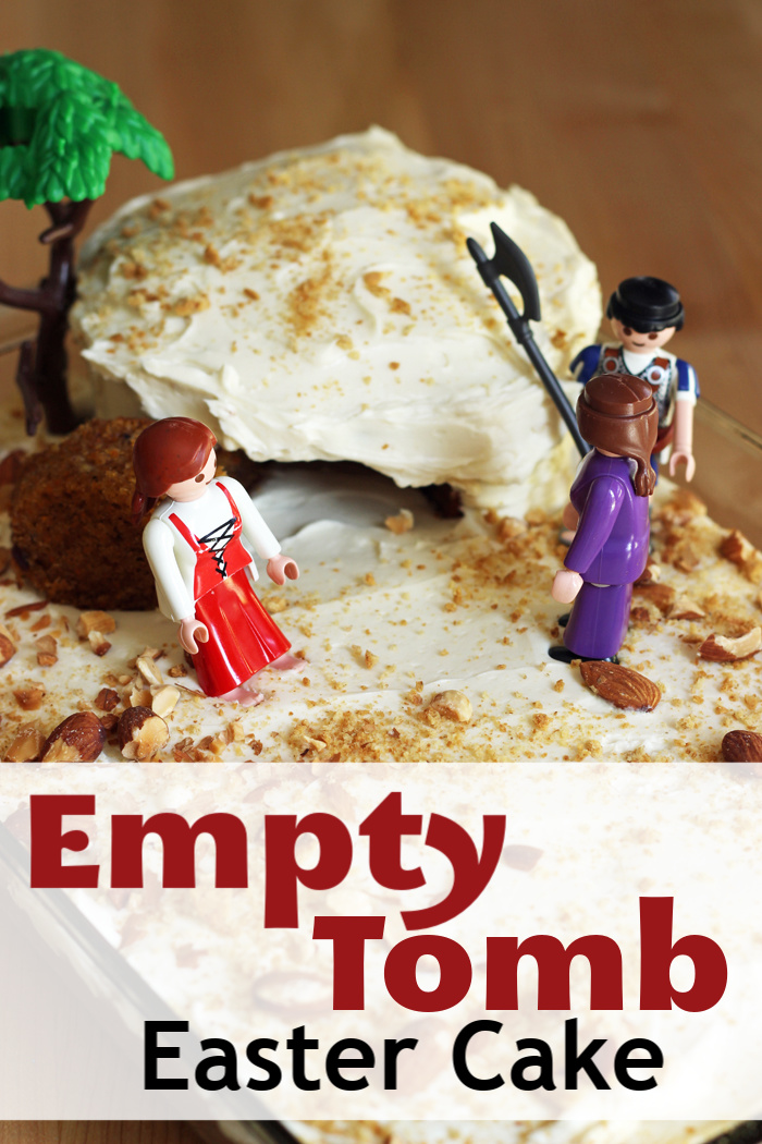 Empty Tomb Cake | Life as Mom