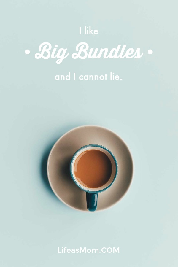 I like big bundles and I cannot lie.