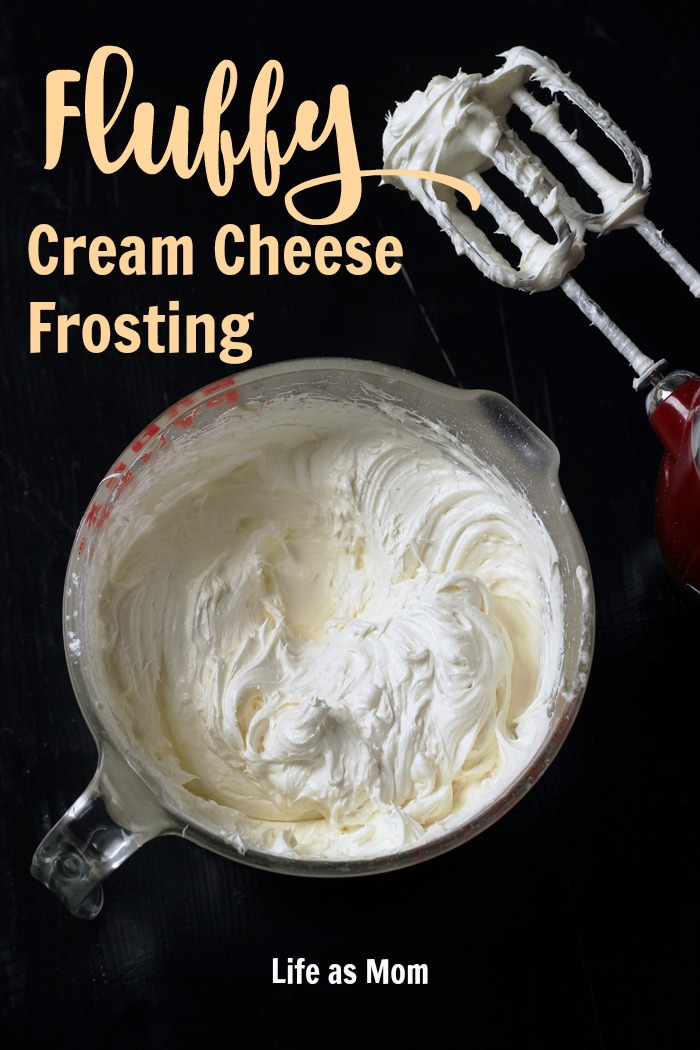 Fluffy Cream Cheese Frosting | Life as Mom