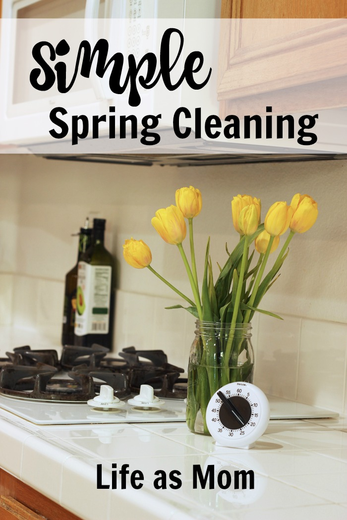 Simple Spring Cleaning | Life as Mom