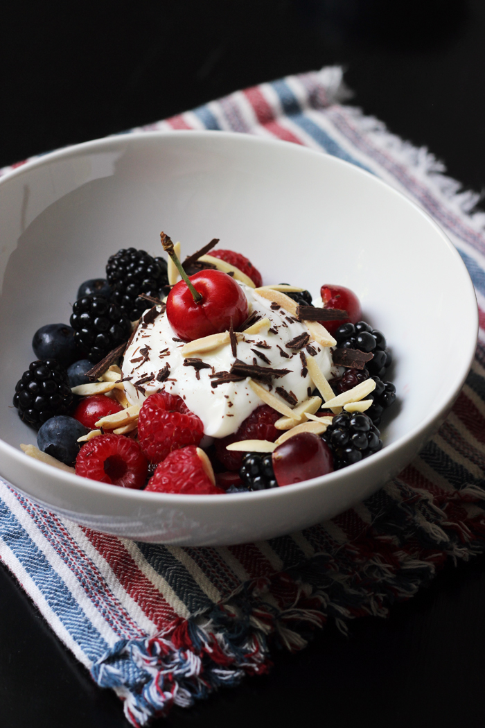 Nutty Berry Parfait | Life as Mom