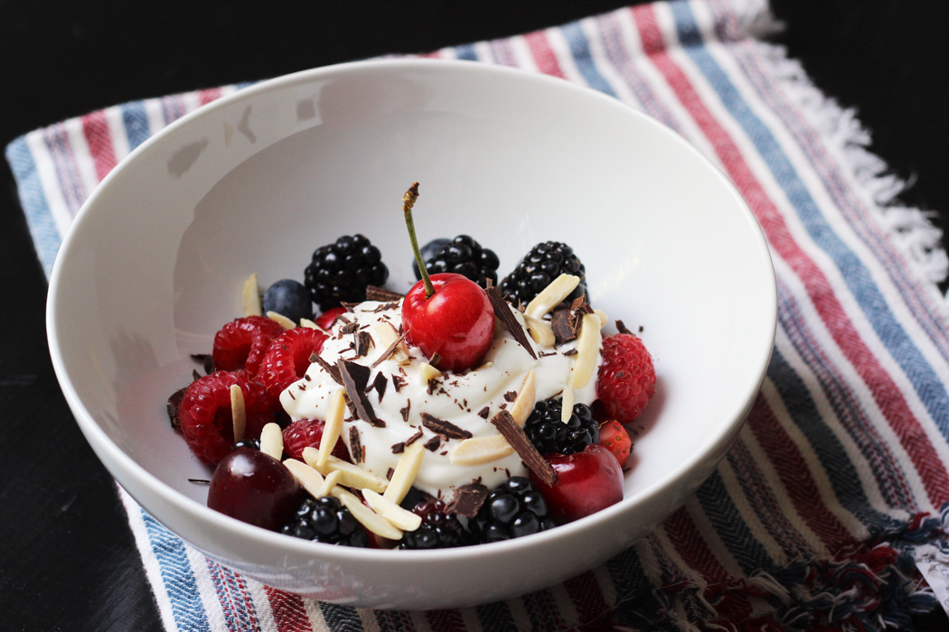 Nutty Berry Parfait Recipe | Life as Mom