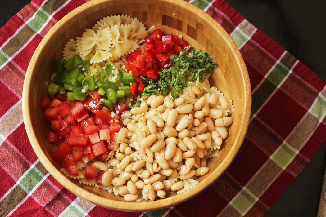 Cannellini Bowtie Pasta Salad | Life as Mom