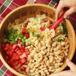 Cannellini Bowtie Pasta Salad