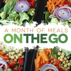 A Month of Meals on the Go – No More Lunch Envy