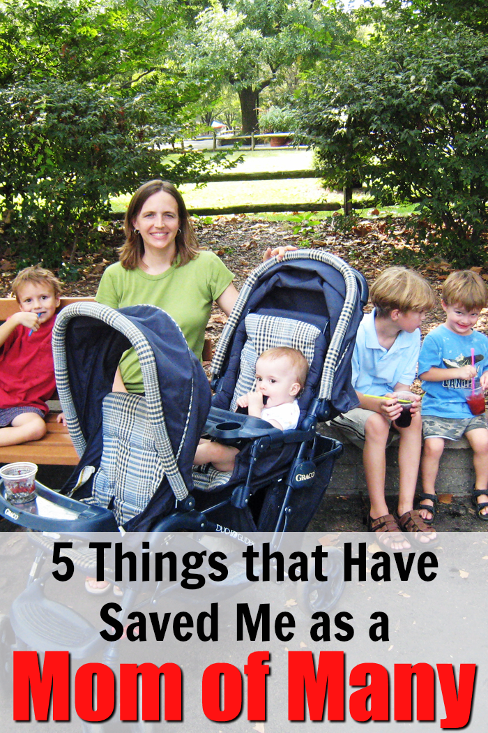 5 Things that Have Saved Me as a Mom of Many | Life as Mom