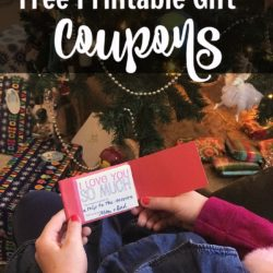 Free Printable Gift Coupons for an Easy Last-Minute Gift