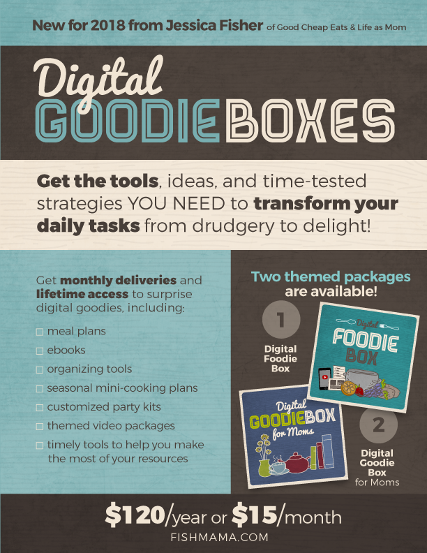 Treat Yourself to a Yearly Digital Goodie Box and Save | Life as Mom