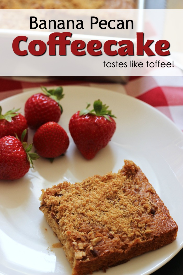 photo of coffeecake and strawberries with title banner