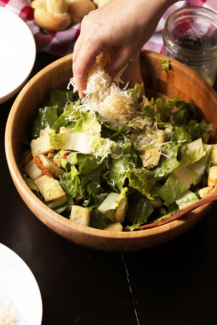 Quick and Easy Caesar Salad Recipe