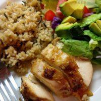 Chicken and Wild Rice Bake