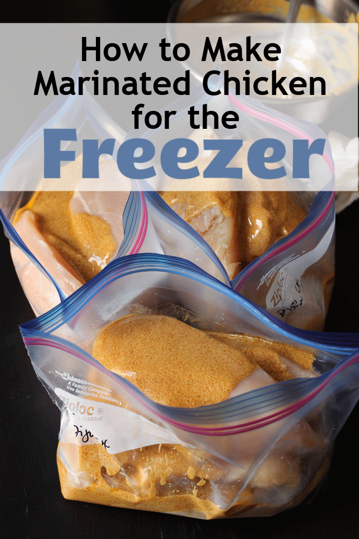 How to Make Marinated Chicken for the Freezer in 5 Easy Steps