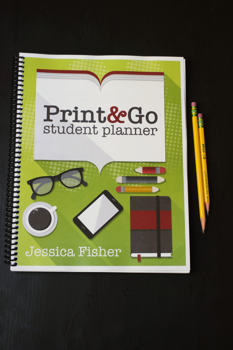 The Print & Go Student Planner to Help Your Child Build Good Habits
