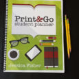 student planner with yellow pencils