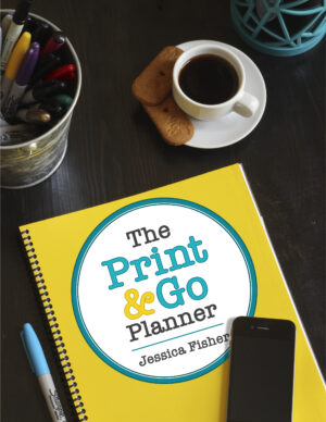 cover of print and go planner